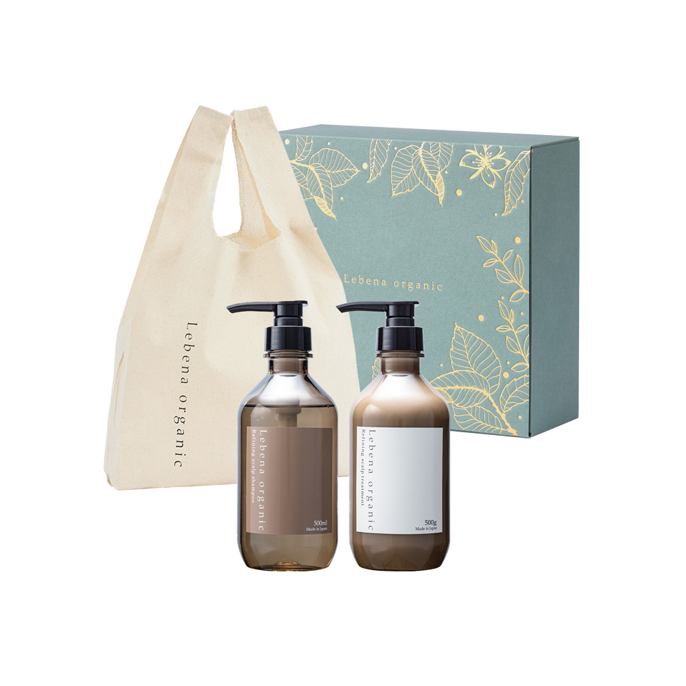 Holiday Coffret 2020 Refining scalp shampoo&treatment & original eco bag