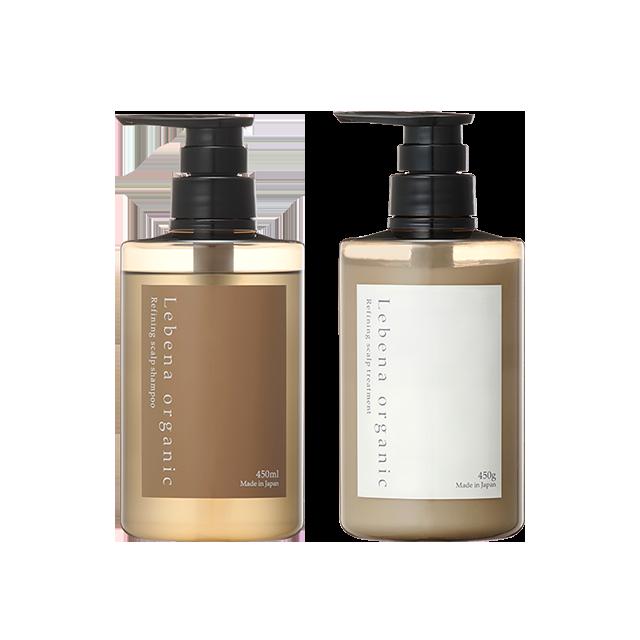 【セット】Refining scalp shampoo&treatment