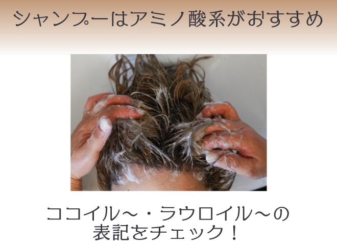白髪が気になるならアミノ酸シャンプーがおすすめ